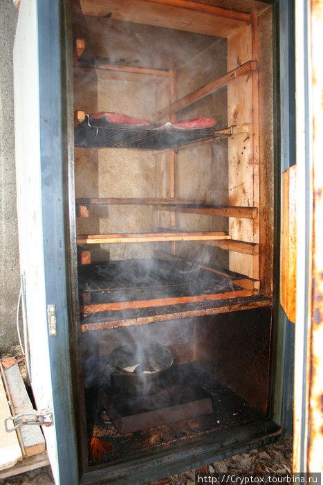 Коптильня холодного копчения из старого холодильника своими