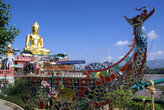 Будда в ладье