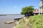 Лаосский берег Меконга