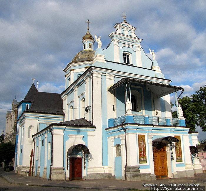 Греко-католический храм Рождества Пресвятой Богородицы был построен в 1738 г.