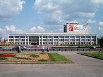 Музыкальный театр. Он славится своими постановками оперетт по всей Западной Сибири.