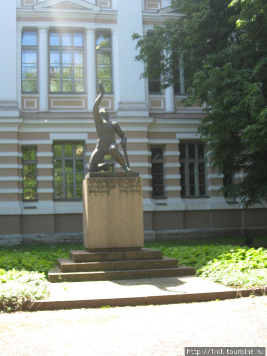 Памятник юношам-добровольцам / Vabadussojas Langenud Tallinna