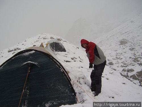 Снег под пер.Грановского