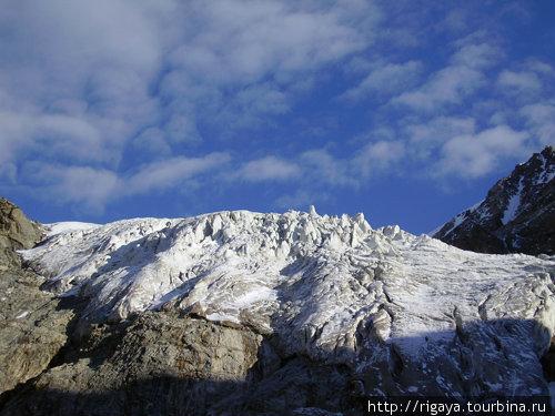 Ледопад ледника Северный Башиль