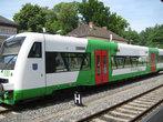 сам себе тюрингский поезд из одного вагона
