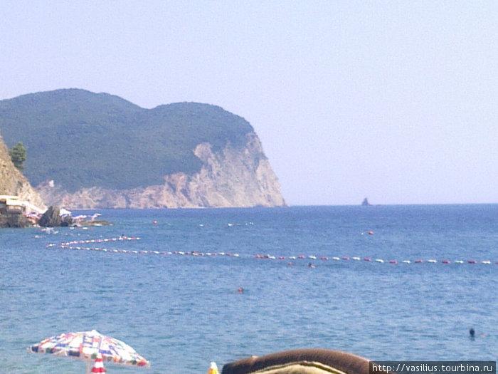 Вид из ресторана Sutjeska