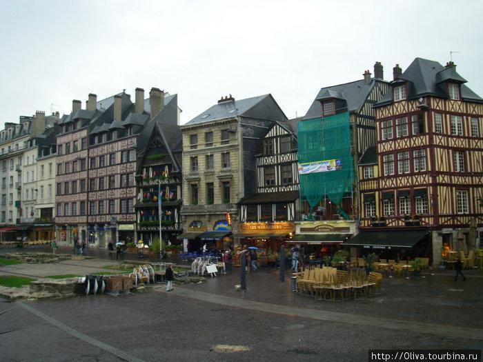 На площади старого рынка