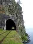 Некоторые тоннели более живописно выглядят со стороны