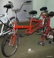 Польский велосипед-тандем 1980-х