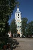 Его основные постройки: колокольня и церковь Рождества были возведены в ту пору, когда настоятелем монастыря был дядя адмирала Ушакова.