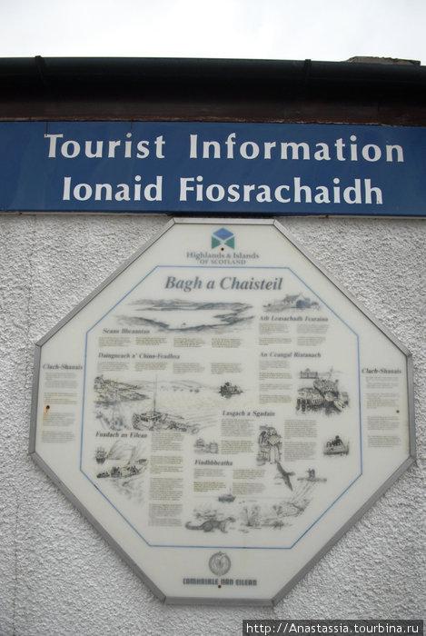 Надписи на английском и местном языках