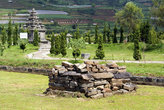 Руины на плато Диенг