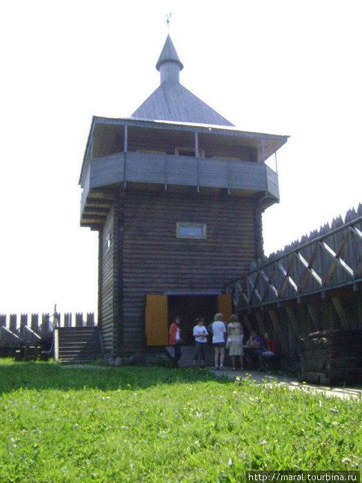 Сторожевая башня — символ Усть-Шексны