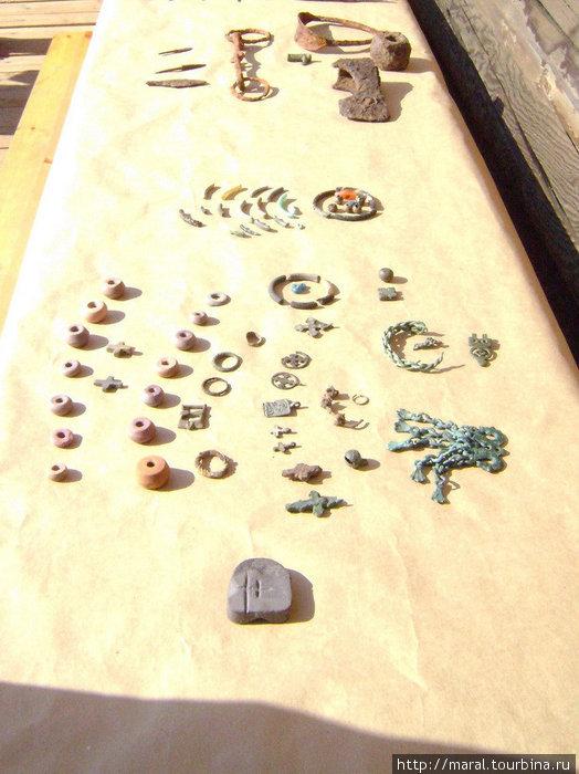 Этот археологический сезон богат находками, которые говорят о том, что Усть-Шексна в XI веке была крупным торгово-ремесленным центром на Верхней Волге