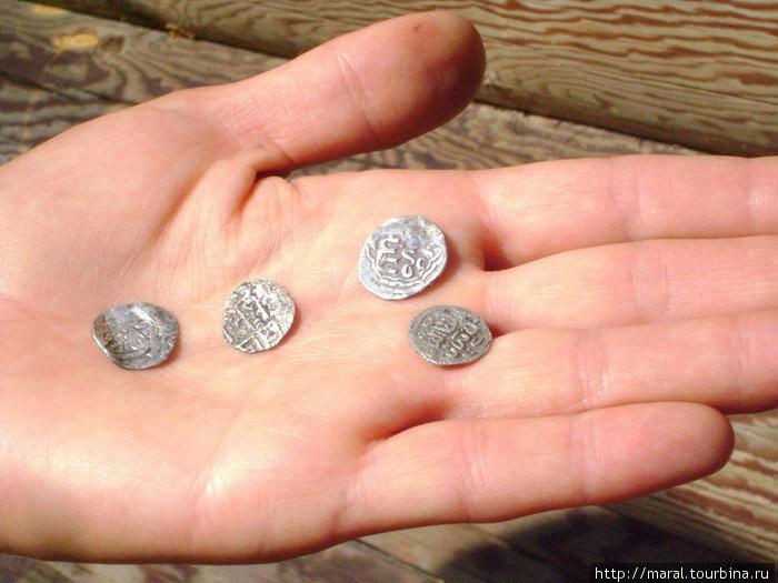 Серебряные арабские дирхемы Х века равнозначны для той эпохи по своему денежному хождению современным долларам и евро
