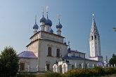 Крестовоздвиженская церковь. Палех
