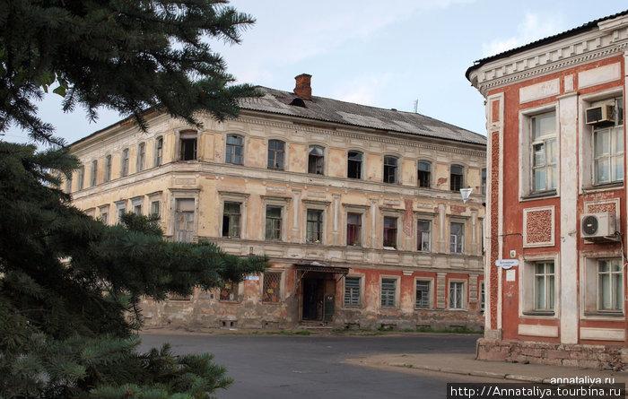 Купеческие особняки в центре города