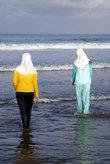 Мусульманки на пляже