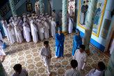 У входа в храм