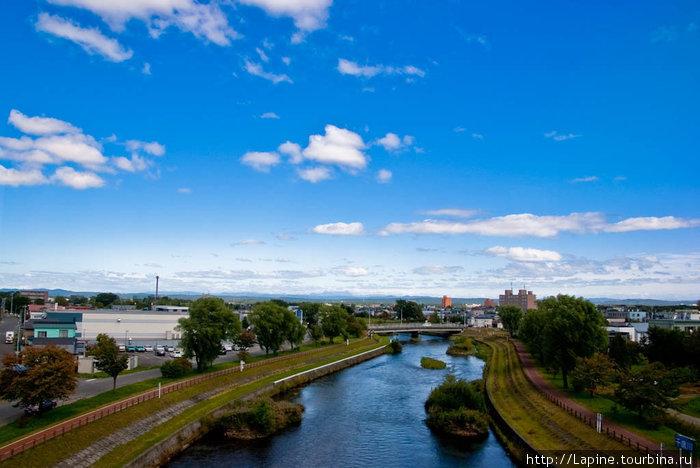 Река Исикари в Саппоро: не узнать! :-)