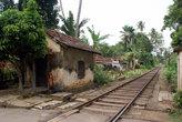 На железнодорожном переезде