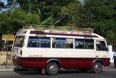 Автобус — основной вид транспорта на острове