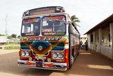 Автобус на автовокзале