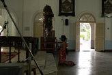 Молитва в соборе