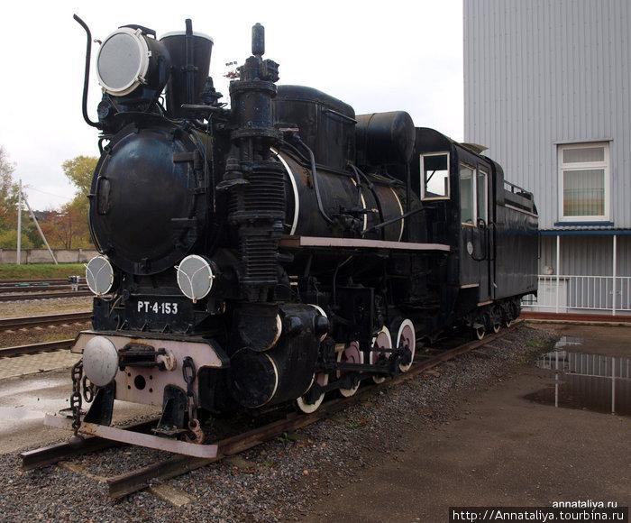 Старинный литовский локомотив