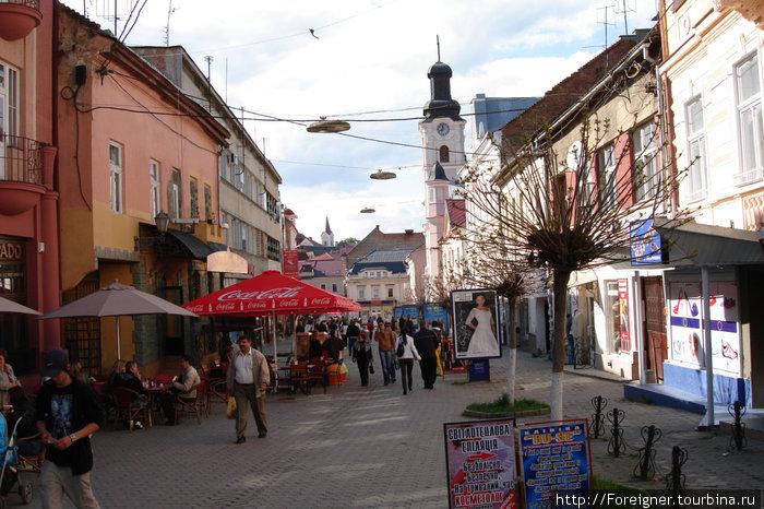 Улица Ужгорода