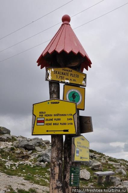 В Татранском заповеднике (TANAP) проложены десятки пешеходных и горных маршрутов. Они маркированы и обеспечены указателями. И все же на тропу не стоит выходить без совета инструктора — нередки обвалы.