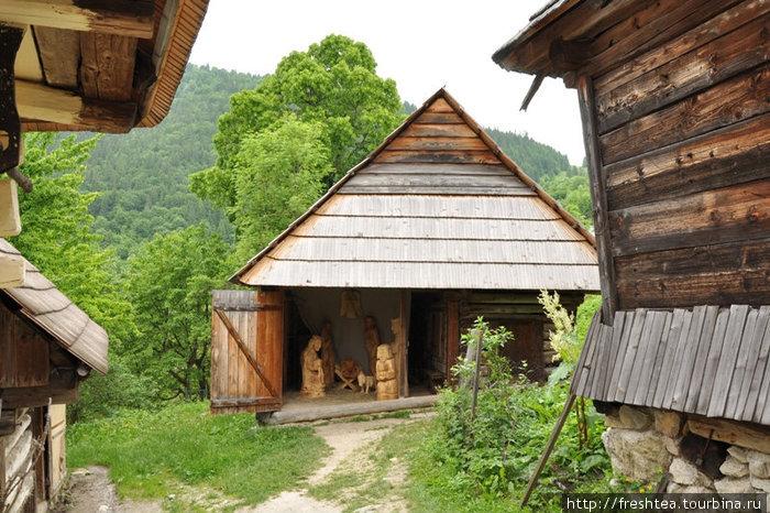 Волколинец — музей сельского быта под открытым небом.