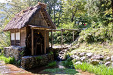 Водяная мельница в музее