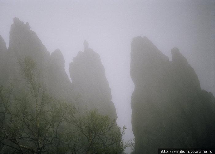 Скалы Таганая