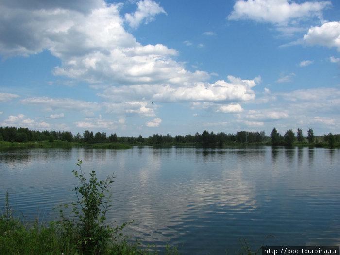 заповедное озеро