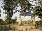 Надпись — Археологические индийские раскопки