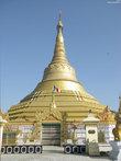 В городе много  разных буддийских храмов, это один из них