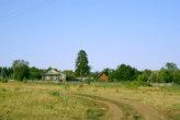 По полевой дороге в деревню...