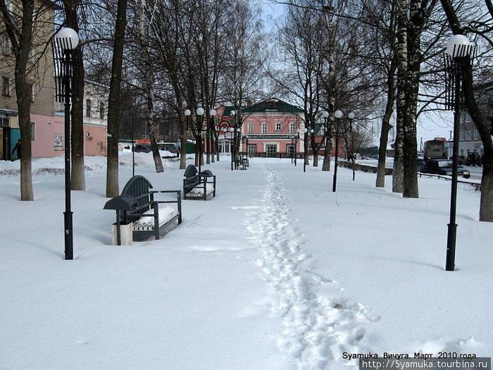Вичуга – один из сотен небольших провинциальных городов Центральной России, как принято называть \