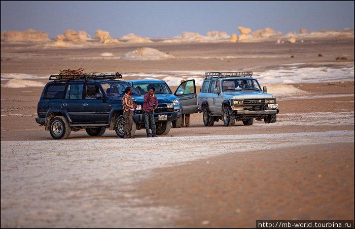 Белая пустыня Фарафра, Египет