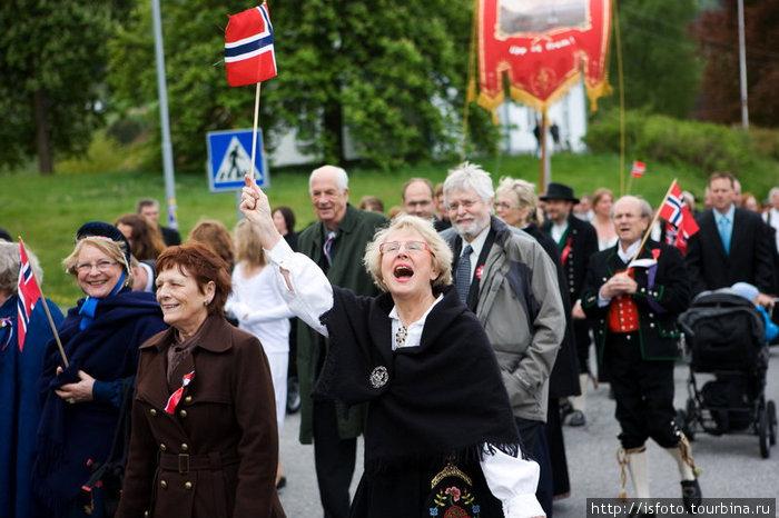 Норвегия и норвежцы глазами русского