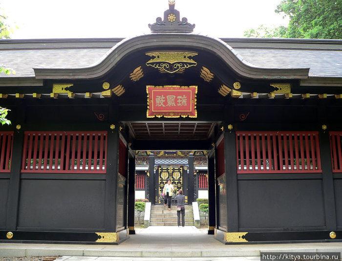 Мавзолей Датэ Масамунэ