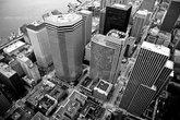 Вид с 74 этажа Columbia Center, высота которого составляет 285 метров (около 125 наших этажей).