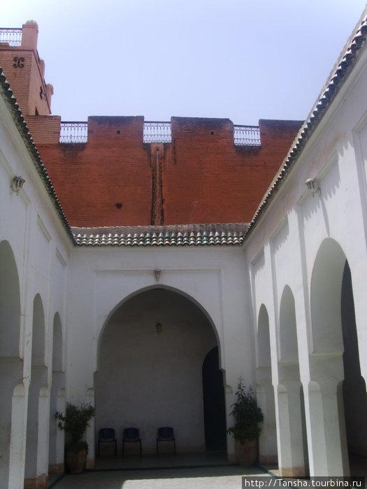 г. Марракеш. Во Дворце Бахия, 19 век.