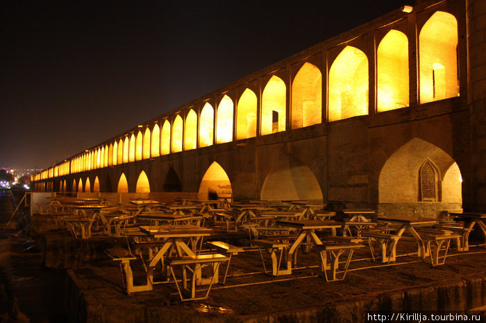 3. Исфаган. Мост тридцатитрех арок.