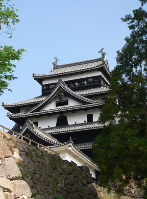 Донжон замка Мацуэ