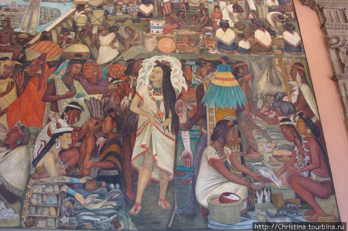 Торговля (бартер). Рыбная ловля. Текстиль (нить добывали из кактуса), яркое оперение красочных птиц, множество женских украшений и древнейшее женское ремесло.
