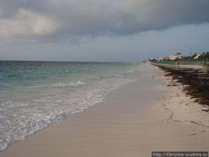 Утренняя пробежка по пляж