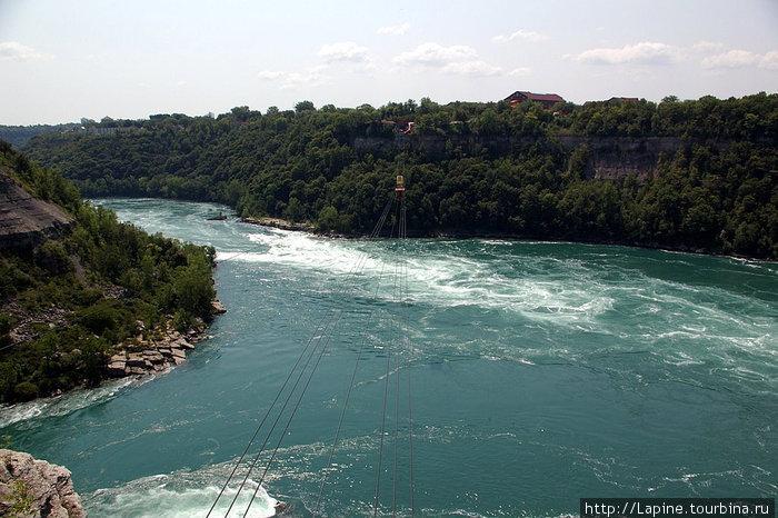 Канатная дорога Whirlpool Aero Car над Ниагарским водоворотом (Niagara Whirlpool)