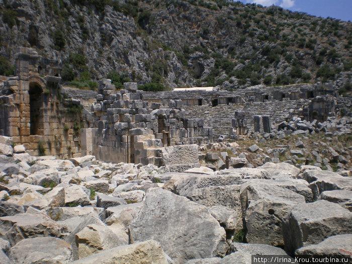 Ликийские развалины